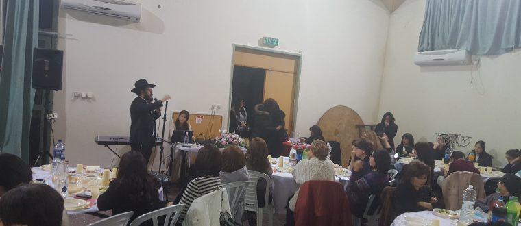יום החתונה של הרבי והרבנית בקרית שמואל